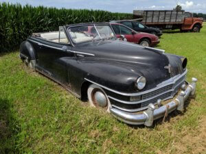 Vintage & Collector Car, Truck and Auto Parts Auction @ Ackley Iowa