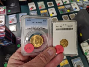 Large Collector Coin Auction POSTPONED @ South Square